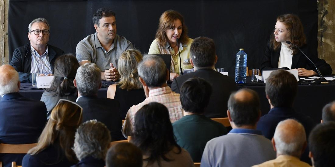 Encuentro red Unesco Pais Vasco-Punta Begoña-Maria Peraita-Marta Uriarte-Mikel Unzueta-Juanjo Aramburu