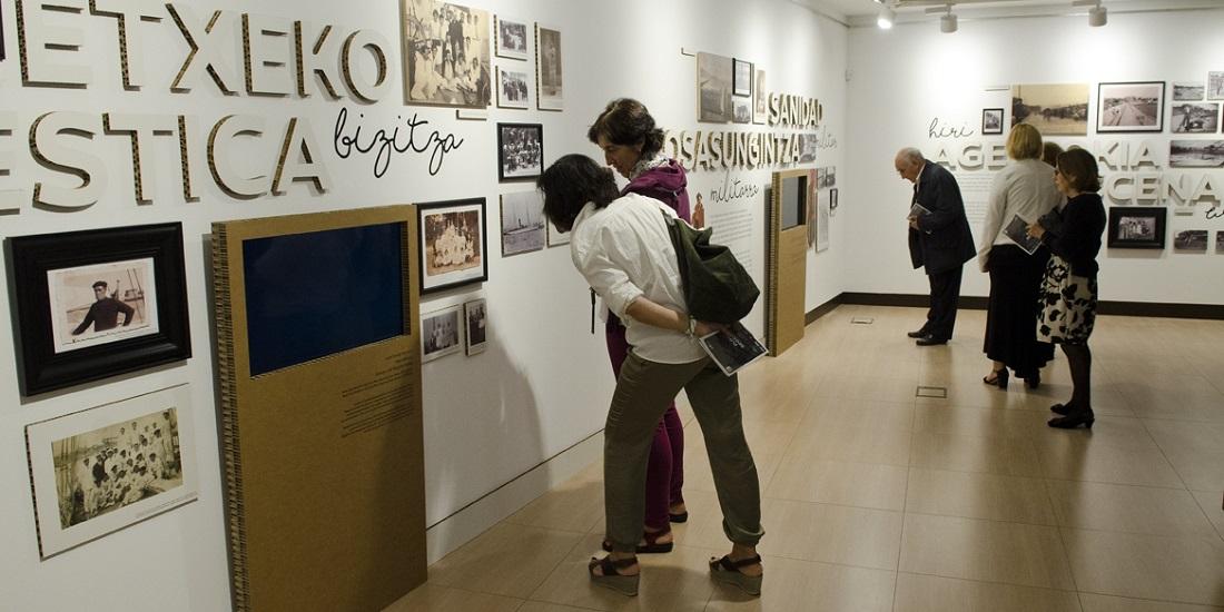 Exposición «Memoria colectiva de Getxo. Proyecto Galerías Punta Begoña»