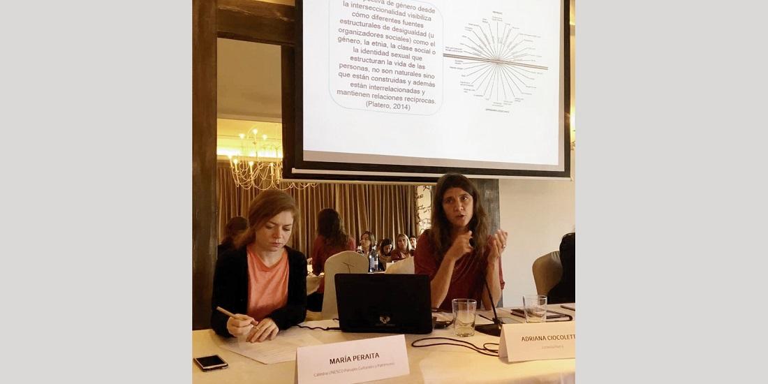 Jornada técnica «Igualdad en la ordenación del territorio». Maria Peraita. Adriana Ciocoletto