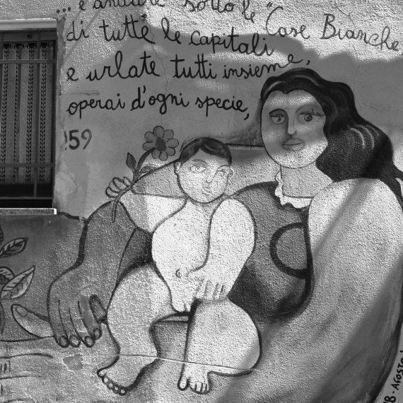 Mural en Cerdeña, Italia. Autora: Maria Peraita